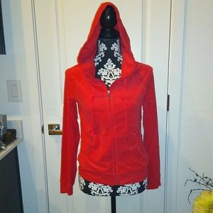 Juicy Couture fleece hoodie size Medium